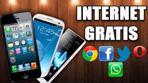tutorial de internet gratis no celular como tener internet gratis en tu celular android