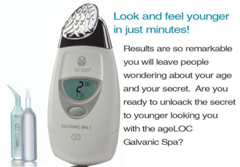 6 Tips On Using The Galvanic Spa by Nuskin Products Fabulosity De Santorini
