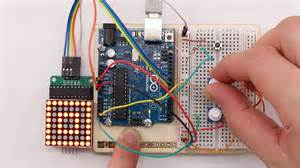 arduino led matrix display 8 215 8 pixel zeichenprogramm