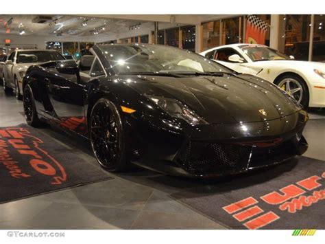 Lamborghini Gallardo Lp560 4 Black 2010 Nero Noctis Black Lamborghini Gallardo Lp560 4