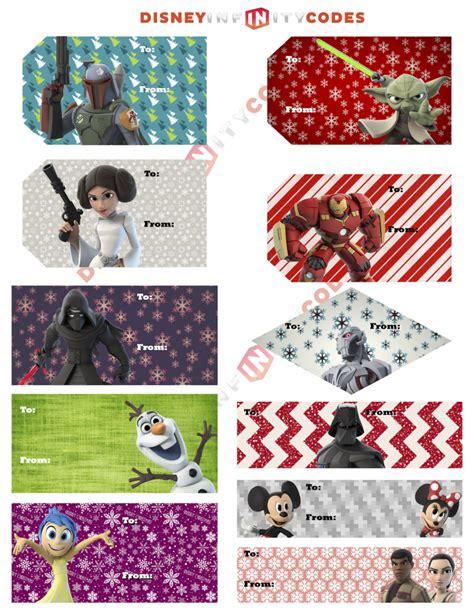 disney holiday gift tags printables disney infinity gift tags disney infinity codes cheats help