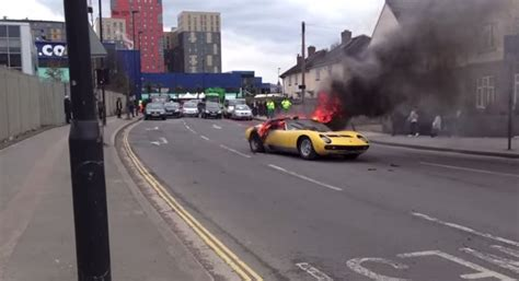 lamborghini miura owner sues  roasted car video
