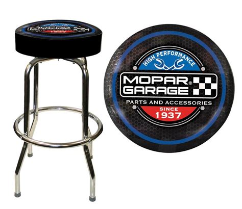 Jeep Logo Bar Stools by Mopar Garage Bar Stool Free Shipping On Orders 99