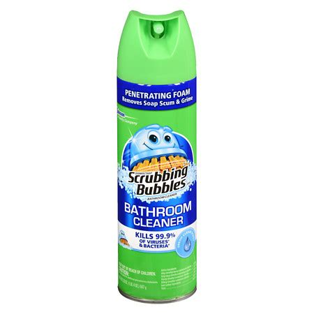 scrubbing bubbles bathtub cleaner scrubbing bubbles bathroom cleaner spray walgreens