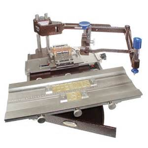 pepetools flat engraving machine horizontal w type