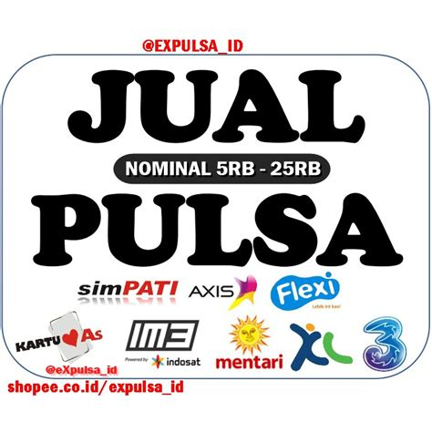 Pulsa Tri Reguler 5 000 pulsa reguler all operator telkomsel xl axis 3 tri indosat