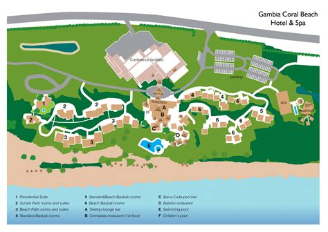 Serenity Floor Plan by Coral Beach Hotel Amp Spa The Gambia Experience