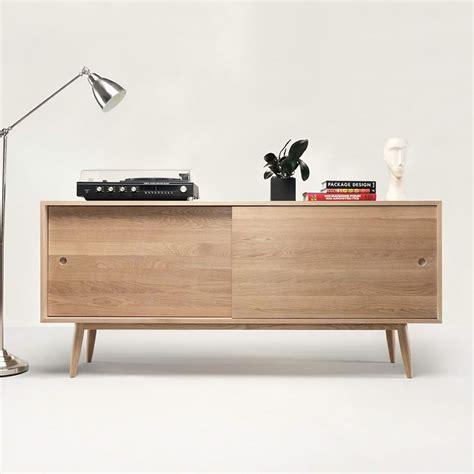 mobili da oak mobile da soggiorno in legno con ante scorrevoli