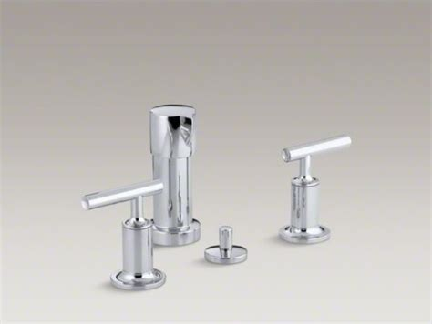 Kohler Bidet Faucet kohler purist r vertical spray bidet faucet with lever handles contemporary bidet faucets