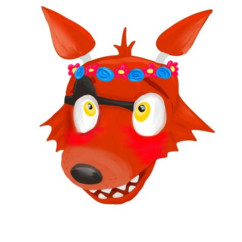 new g ci 030 3canvas foxy flowercrowned by galactic on deviantart