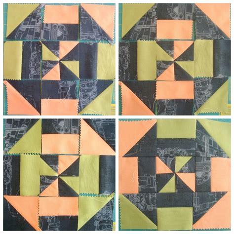 photo collage design pinwheel pattern disappearing pinwheel quilt block tutorial