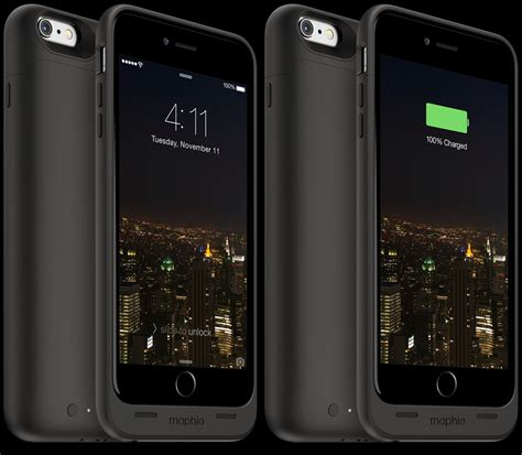 Iphone Dan Mini mophie space pack casing iphone 6 dengan baterai penyimpanan ekstra gadgetgaul
