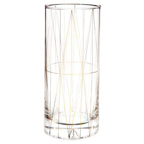 maison du monde bicchieri bicchiere alto in vetro dorato arts maisons du monde