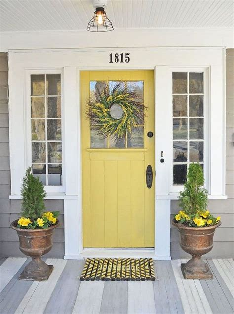 yellow front doors yellow front door 11 front door designs to welcome you