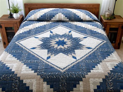 Lone Log Cabin Quilt Pattern by Lone Log Cabin Quilt Splendid Made With Care Amish