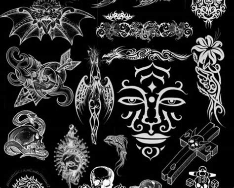 tattoo maker photoshop huge collection of high quality free tattoo brushes for