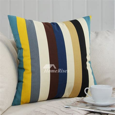 couch pillows cheap natural colorful striped couch square cheap throw pillows