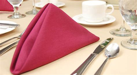 setting table napkin napkins a addition to table setting cotton