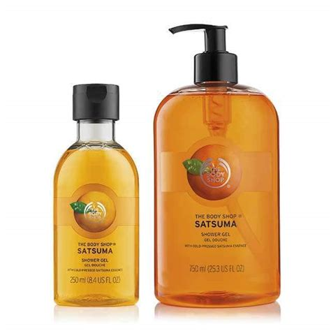 Shower Gel The Shop satsuma shower gel 25 3 fl oz