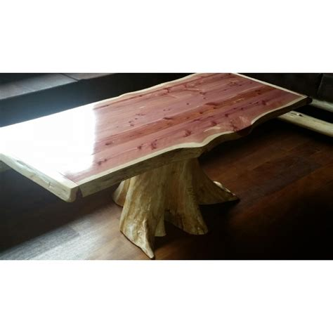 Rustic Log Coffee Table Rustic Cedar Log Furniture
