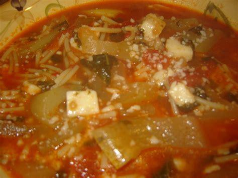 Mama G Recipes: cucuzza - Italian Squash Soup G Recipes