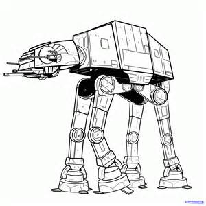 draw imperial walker imperial walker step step star wars characters draw star