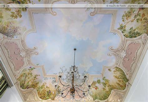 pittura per soffitto soffitti a volta dipinti design casa creativa e mobili