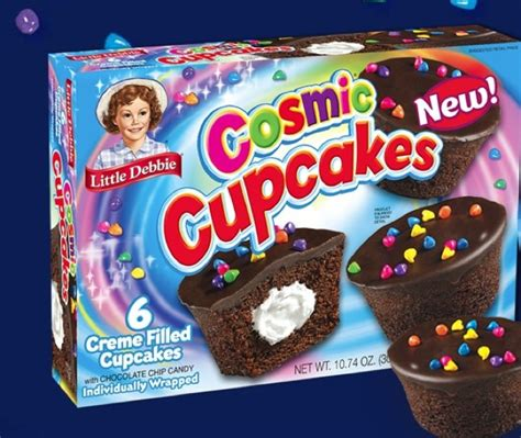 Little Debbie Giveaway - the funky monkey giveaway huge case of new little debbie cosmic cupcakes 12 boxes
