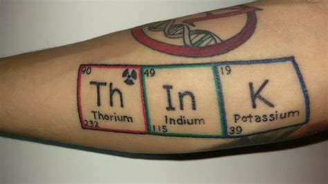 periodic table tattoo best 25 big ideas on tattoos that