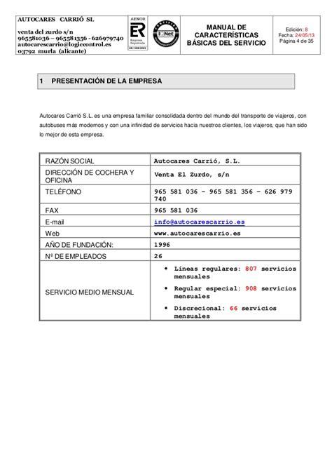 cochera del zurdo manual caracter 237 sticas b 225 sicas del servicio edici 243 n 8
