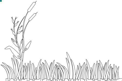 grass outline clip art  clkercom vector clip art