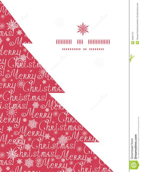 card frames templates pine boughs vector merry text pine tree silhouette stock