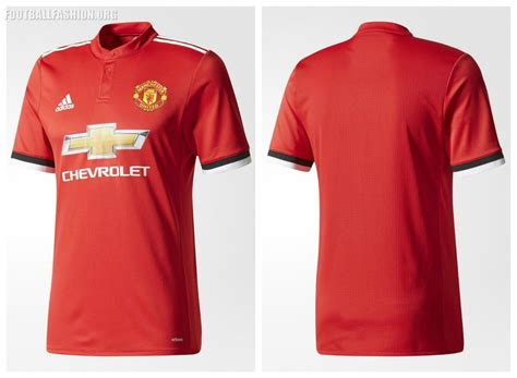 Jersey Manchester United Home Uefa Cup 2017 2018 Manchester United 2017 18 Adidas Home Kit Football