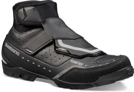 shimano winter mountain bike shoes shimano mw7 winter mountain bike shoes s rei
