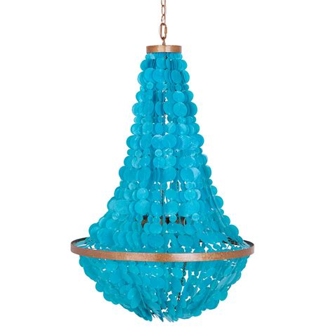 Turquoise Chandelier Manor 3 Light Turquoise Chandelier Everything Turquoise
