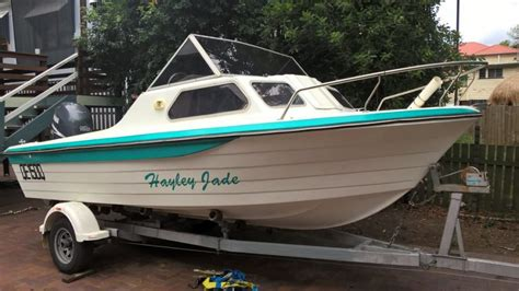 used fishing boat for sale qld 5 5m fishing boat woolloongabba qld boats for sale