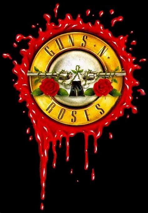 Guns N Roses Logo 2 logo hombres rudos