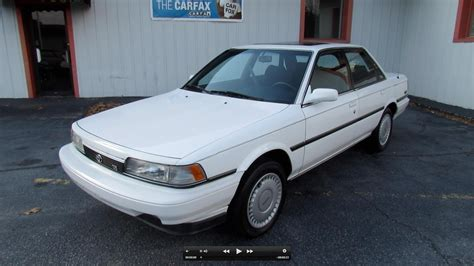 1990 toyota camry 1990 toyota camry le v6 start up exhaust in depth tour