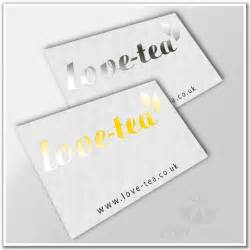 foil business card printing foil business cards