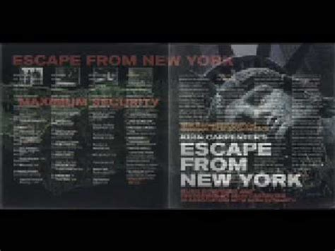 theme music escape from new york escape from new york main theme youtube