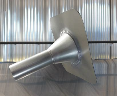 Krey Alluminium 75 X 195 105 X 135 produit sur mesure 233 vacuation des eaux pluviales en galva