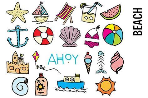 free paper doodle theme doodle clipart illustrations creative market