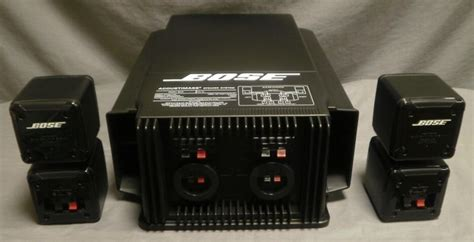 bose  acoustimass speaker system image  whats