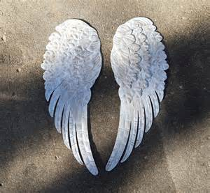 Wings Wall Decor by Large Wings Metal Wings Wall Decor By