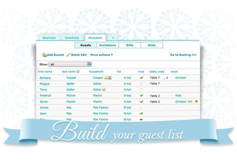 Weddingwire Guest List by Wedding Guests Wedding Guest List Weddingwire