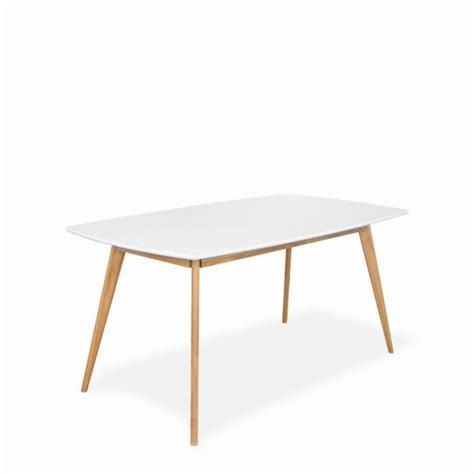 Table à Manger Scandinave by Table 224 Manger Design Scandinave Bois Et Laque Achat