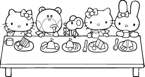 hello kitty turkey coloring pages thanksgiving hello kitty free coloring pages