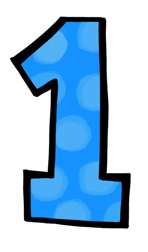 blue one blue number 1 png 53145 movieweb