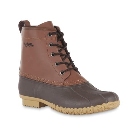 totes boots totes s bob brown lace up weather boots