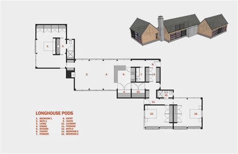 longhouse floor plans longhouse
